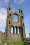St Andrews Cathedral - Fife - Scotland. There had probably been a religious community located on this site since around 732AD, when relics of St Andrew were royalty free stock photos