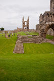 St Andrews Cathedral - Fife - Scotland stock image