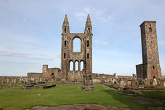 St Andrews cathedral grounds Royalty Free Stock Image