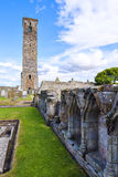 St Andrews Cathedral ruins Stock Image