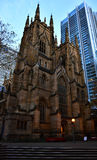 St Andrews Cathedral Sydney. St Andrews Cathedral in Sydney is the oldest Cathedral in Australia. The Anglican Church of Australia Conscrated it in 1868 stock photos
