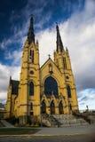 St Andrews Catholic Church Roanoke, Virginia, USA. Roanoke, VA – January 24th: A view of St Andrews Catholic Church located in the Blue Ridge Mountains stock photos