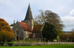 St. Andrews Church Alfriston East Sussex lizenzfreies stockfoto