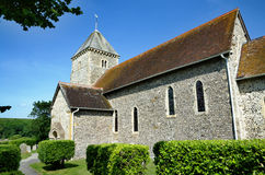 St Andrews Church, Bishopstone Royalty Free Stock Image