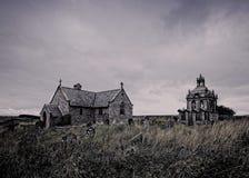 St Andrews Church Brennofen Pit Hill northumberland England, stockbilder