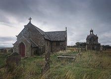 St Andrews Church Brennofen Pit Hill northumberland England, lizenzfreies stockbild
