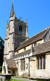 St Andrews church, Castle Combe. Stock Image