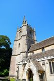 St Andrews Church, Castle Combe. Royalty Free Stock Photos