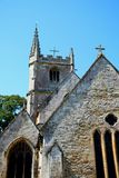 St Andrews church, Castle Combe. Stock Photos
