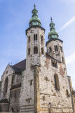 St. Andrews Church on Grodzka Street  Royalty Free Stock Image