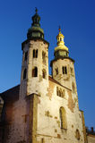 St. Andrews church in Krakow. Poland royalty free stock photo