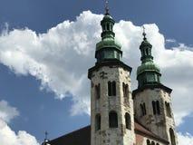 St. Andrews Church. In Krakow Poland stock photography