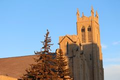 St Andrews Church Moose Jaw Canada royalty free stock photo