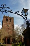 St. Andrews Church, Penrith - Landmarks in Penrith, Cumbria. royalty free stock image