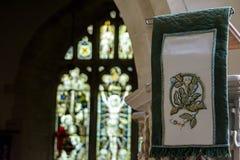 St Andrews Church Pulpit Cloth immagini stock libere da diritti