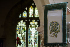 St Andrews Church Pulpit Cloth Royalty Free Stock Images