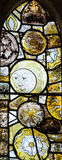 St Andrews Church Stained Glass The Man in The Moon Royalty Free Stock Image