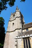 St Andrews church tower, Castle Combe. Stock Photo