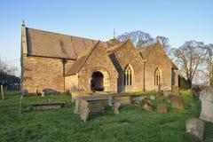 St Andrews Church. Woolaston, Severnside, Gloucestershire stock photography
