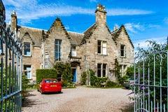 St Andrews, circa sepotember 2016 van Schotland, het UK Typisch huis Stock Afbeeldingen