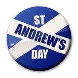 St Andrews Dag stock illustratie