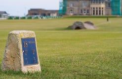 St Andrews golf Zdjęcie Stock