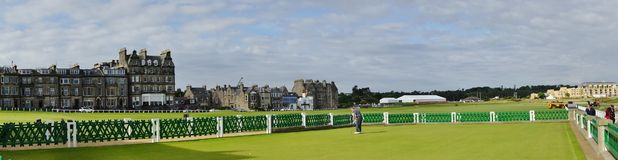 St Andrews Golf Course, Escocia Fotos de archivo libres de regalías