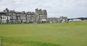 St. Andrews Golf Course, Scotland. Royalty Free Stock Image