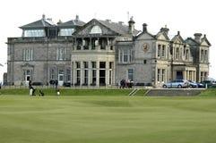 St. Andrews golfclubhuis royalty-vrije stock fotografie