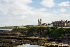St Andrews im Sommer lizenzfreies stockfoto