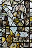 St Andrews Kościelny witraż w Pozostałym Chancel Windows Fotografia Royalty Free