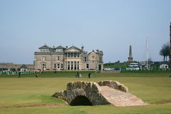 St. Andrews links Royalty-vrije Stock Foto