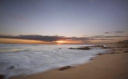 St Andrews Ocean Beach. St Andrews on the Mornington Peninsula in Australia stock image