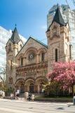 St. Andrews Presbyterian church, Toronto stock image