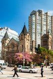 St. Andrews Presbyterian kerk in Toronto Royalty-vrije Stock Afbeeldingen