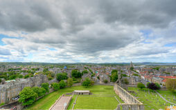 St. Andrews, Scotland. Aerial View of St. Andrews, Scotland royalty free stock photography