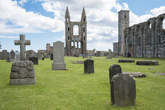 St. Andrews Scotland. An image of St. Andrew an old Scotland city royalty free stock image