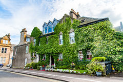 St. Andrews, Scotland, UK- circa sepotember 2016. typical house. In the Scores street of the St. Andrews town royalty free stock images