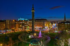 St Andrews Square, Edinburgh, Scotland, UK Royalty Free Stock Images