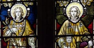 St Andrews witrażu południe Kościelny Chancel Fotografia Stock
