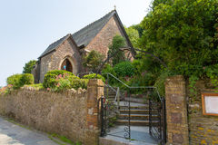 St- Andrewskirche Cawsand Cornwall England Stockbild