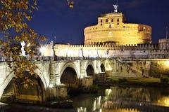 St Angel Castel em Roma, Itália imagens de stock royalty free
