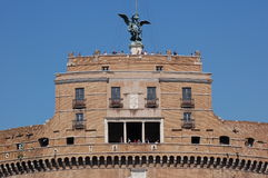 St. Angel Castle. Castel Sant'Angelo in Rome, Italy royalty free stock images