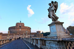 St. Angel Castle, Rome Royalty Free Stock Image