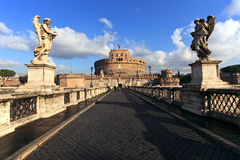 St. Angel Castle, Rome Royalty Free Stock Photos