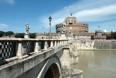 St. Angel Castle, Rome Stock Images