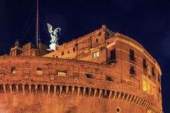 St. Angel Castle Rome Stockbilder
