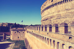 St. Angel Castle  in Rome. Stock Photos