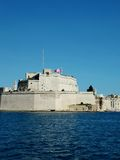 St Angelo. HIstoric Malta Fortress in Grand Harbour Stock Photos