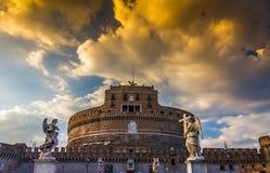 ST Angelo Castel στη Ρώμη Στοκ Φωτογραφίες